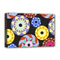 Colorful Retro Circular Pattern Deluxe Canvas 18  x 12   View1