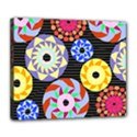 Colorful Retro Circular Pattern Deluxe Canvas 24  x 20   View1