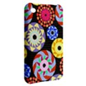Colorful Retro Circular Pattern Apple iPhone 3G/3GS Hardshell Case View2