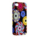 Colorful Retro Circular Pattern Apple iPhone 4/4S Hardshell Case View2