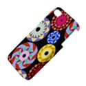Colorful Retro Circular Pattern Apple iPhone 4/4S Hardshell Case View4