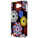 Colorful Retro Circular Pattern Samsung Galaxy Note 1 Hardshell Case View3