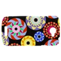 Colorful Retro Circular Pattern HTC One S Hardshell Case  View1