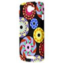 Colorful Retro Circular Pattern HTC One S Hardshell Case  View3