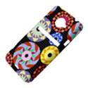 Colorful Retro Circular Pattern HTC Evo 4G LTE Hardshell Case  View4