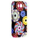 Colorful Retro Circular Pattern HTC Sensation XL Hardshell Case View2