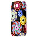Colorful Retro Circular Pattern HTC Sensation XL Hardshell Case View3