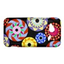 Colorful Retro Circular Pattern HTC Droid Incredible 4G LTE Hardshell Case View1