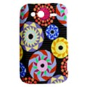 Colorful Retro Circular Pattern HTC Wildfire S A510e Hardshell Case View2