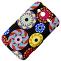 Colorful Retro Circular Pattern HTC Wildfire S A510e Hardshell Case View4