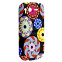 Colorful Retro Circular Pattern HTC Desire S Hardshell Case View2