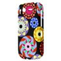 Colorful Retro Circular Pattern HTC Desire S Hardshell Case View3
