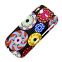 Colorful Retro Circular Pattern HTC Desire S Hardshell Case View4