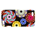Colorful Retro Circular Pattern HTC One V Hardshell Case View1