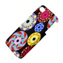 Colorful Retro Circular Pattern Apple iPhone 4/4S Premium Hardshell Case View4