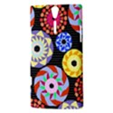 Colorful Retro Circular Pattern Sony Xperia S View3