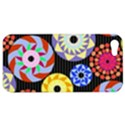 Colorful Retro Circular Pattern Apple iPhone 5 Hardshell Case View1