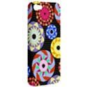 Colorful Retro Circular Pattern Apple iPhone 5 Hardshell Case View2