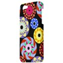 Colorful Retro Circular Pattern Apple iPhone 5 Hardshell Case View3
