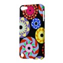 Colorful Retro Circular Pattern Apple iPod Touch 5 Hardshell Case View3