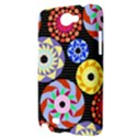 Colorful Retro Circular Pattern Samsung Galaxy Note 2 Hardshell Case View3