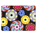 Colorful Retro Circular Pattern Kindle Fire (1st Gen) Flip Case View1