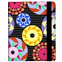 Colorful Retro Circular Pattern Kindle Fire (1st Gen) Flip Case View2