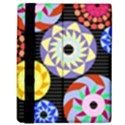 Colorful Retro Circular Pattern Kindle Fire (1st Gen) Flip Case View3