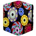 Colorful Retro Circular Pattern Kindle Fire (1st Gen) Flip Case View4