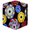 Colorful Retro Circular Pattern Apple iPad 2 Flip Case View4