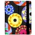 Colorful Retro Circular Pattern Apple iPad 3/4 Flip Case View2