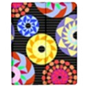 Colorful Retro Circular Pattern Apple iPad Mini Flip Case View1
