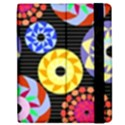 Colorful Retro Circular Pattern Apple iPad Mini Flip Case View2