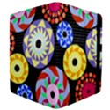 Colorful Retro Circular Pattern Apple iPad Mini Flip Case View4