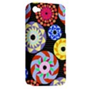 Colorful Retro Circular Pattern Apple iPhone 4/4S Hardshell Case (PC+Silicone) View2