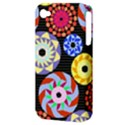 Colorful Retro Circular Pattern Apple iPhone 4/4S Hardshell Case (PC+Silicone) View3