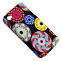 Colorful Retro Circular Pattern Apple iPhone 4/4S Hardshell Case (PC+Silicone) View5
