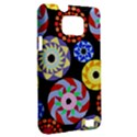 Colorful Retro Circular Pattern Samsung Galaxy S II i9100 Hardshell Case (PC+Silicone) View2