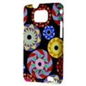 Colorful Retro Circular Pattern Samsung Galaxy S II i9100 Hardshell Case (PC+Silicone) View3