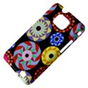 Colorful Retro Circular Pattern Samsung Galaxy S II i9100 Hardshell Case (PC+Silicone) View4