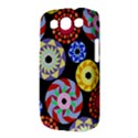 Colorful Retro Circular Pattern Samsung Galaxy S III Classic Hardshell Case (PC+Silicone) View3