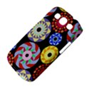 Colorful Retro Circular Pattern Samsung Galaxy S III Classic Hardshell Case (PC+Silicone) View4