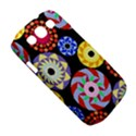 Colorful Retro Circular Pattern Samsung Galaxy S III Classic Hardshell Case (PC+Silicone) View5