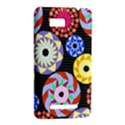 Colorful Retro Circular Pattern HTC One SU T528W Hardshell Case View2