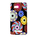 Colorful Retro Circular Pattern HTC One SU T528W Hardshell Case View3