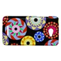 Colorful Retro Circular Pattern HTC Butterfly X920E Hardshell Case View1