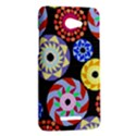 Colorful Retro Circular Pattern HTC Butterfly X920E Hardshell Case View2