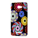 Colorful Retro Circular Pattern HTC Butterfly X920E Hardshell Case View3