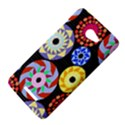 Colorful Retro Circular Pattern HTC Butterfly X920E Hardshell Case View4