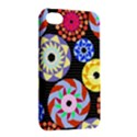 Colorful Retro Circular Pattern Apple iPhone 4/4S Hardshell Case with Stand View2
